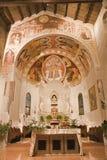 Verona - Sanctuary of Chiesa di Santissima Trinita Stock Image