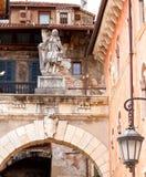 Verona.  Sculpture in Piazza della Signoria Royalty Free Stock Photography