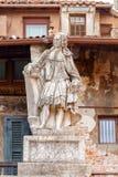 Verona.  Sculpture in Piazza della Signoria Royalty Free Stock Images