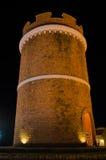 Verona shopping   brick tower Royalty Free Stock Photos