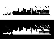 Verona skyline - Italy -  illustration Stock Images