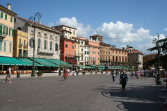 Verona Square Stock Image