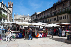 Verona,square of grass Stock Photography