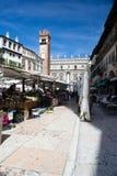 Verona,square of grass Royalty Free Stock Photo