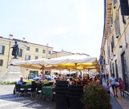 Verona square Stock Photography
