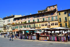 Verona square view Stock Images