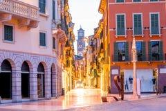 Verona-Stadtansicht Lizenzfreies Stockfoto