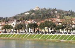 Verona-Stadtbild Lizenzfreie Stockbilder