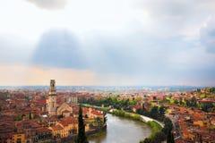 Verona-Stadtlandschaft Lizenzfreies Stockfoto