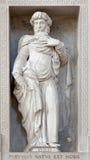 Verona - Statue of prophet Isaiah in San Bernardino church Royalty Free Stock Photography