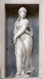 Verona -  Statue of Sybilla in San Bernardino church Stock Image