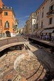Verona-Straße staditional alte Stadt lizenzfreies stockfoto