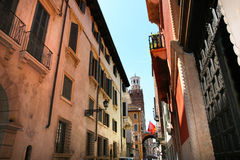 Verona street scene Royalty Free Stock Image