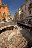 Verona street staditional old town royalty free stock photo