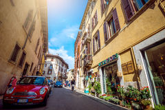 Verona streets by day Royalty Free Stock Images