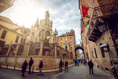 Verona streets by day Stock Photography