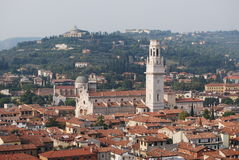 Verona from on top Royalty Free Stock Image
