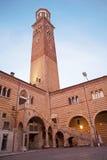 Verona - Torre dei Lamberti Royalty Free Stock Image