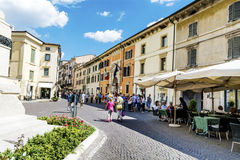 Verona town square. Royalty Free Stock Photography