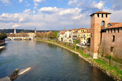 Verona town. Royalty Free Stock Images