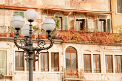 Verona ulica zdjęcie royalty free
