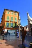 Verona uliczna scena, Włochy Fotografia Stock