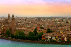 Verona Veiw Royalty Free Stock Photo