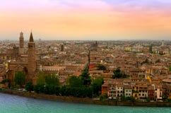 Verona Veiw Royalty Free Stock Photo