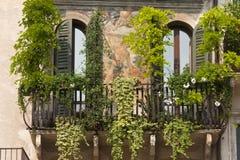 Verona (Veneto, Italië), Piazza Erbe royalty-vrije stock fotografie