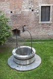 Verona (Veneto, Italy), ancient marble well Royalty Free Stock Photos