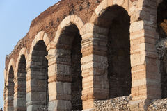 Verona (Veneto, Italy), Arches of Arena Stock Photos