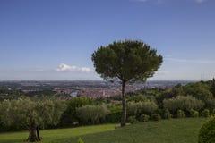 Verona, View from Agriturismo San Mattia Royalty Free Stock Photos