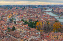 Verona view, Italy. Royalty Free Stock Photography