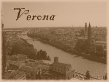 Verona vintage Royalty Free Stock Image