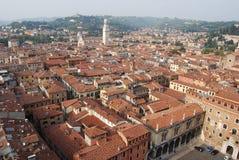 Verona von oben Lizenzfreies Stockbild