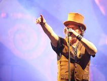 Verona, VR, Italy - September 20, 2017:  Live Concert at Verona Royalty Free Stock Image