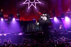 Verona, VR, Italy - September 23, 2018: VENDITTI live at Arena royalty free stock photography