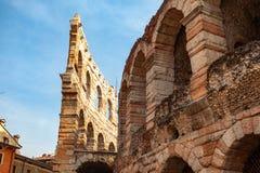 """Verona, Włochy †""""Marzec 2019 Aren di Verona Antyczny rzymski amphitheatre w Verona, Włochy wymieniali jako UNESCO świat obraz royalty free"""
