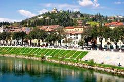 Verona widok Fotografia Royalty Free
