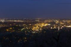 Verona, widok od Agriturismo San Mattia Fotografia Royalty Free