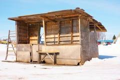 Veronachtzaamde box stock fotografie