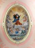 Veronderstelling van Maagdelijke Mary royalty-vrije stock fotografie