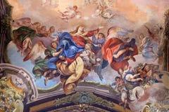 Veronderstelling van Maagdelijke Mary stock foto's