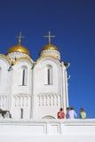 Veronderstellingskathedraal in Vladimir, Rusland Stock Afbeeldingen