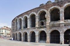 Veronese amphitheater Arena di Verona. royalty free stock photo