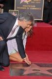 Veronica Berti Andrea Bocelli Royaltyfri Bild