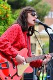 Veronica Falls (band), performs at Parc de la Ciutadella for free Royalty Free Stock Photos