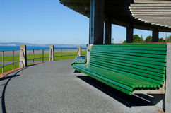 Veronica sunbay and walkway, Napier Stock Photo