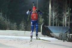 Veronika Vitkova - biathlon Stock Foto's