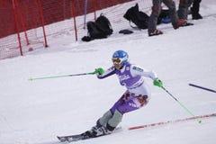Veronika Zuzulova - ski alpestre Photographie stock libre de droits